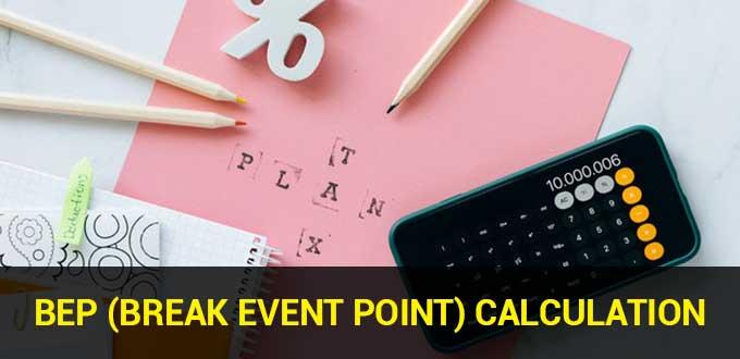 Break Event Point Calculation