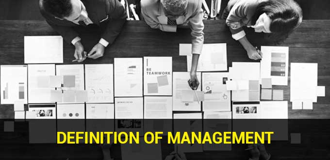 Definition of Management
