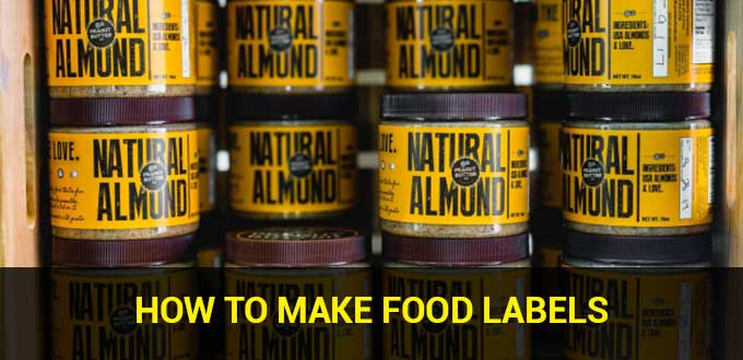 How to Make Food Labels