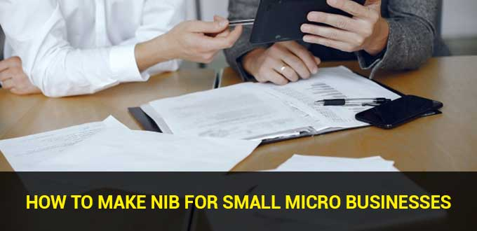 How to make NIB for small micro businesses