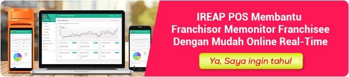 Kelola Bisnis Franchise dengan Aplikasi Kasir iReap POS