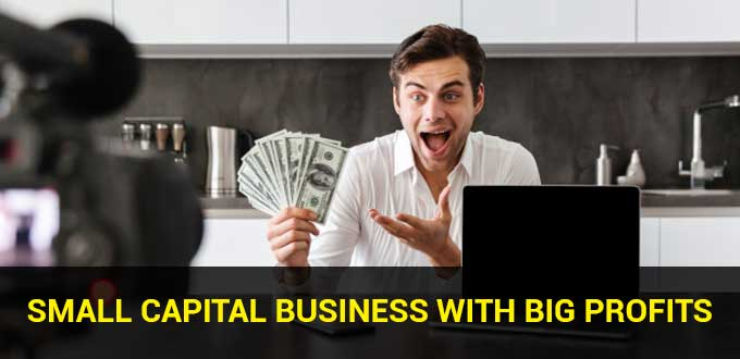 Small Capital Business with Big Profits