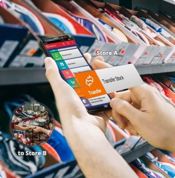 Aplikasi Kasir Android iREAP POS Mendukung Permintaan Transfer Barang ke banyak Toko
