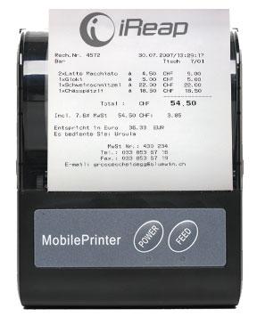 Print Receipt from Mini Printer Bluetooth BellaV Z80