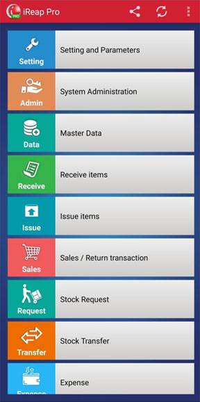 Aplikasi Kasir iREAP POS Support banyak bahasa