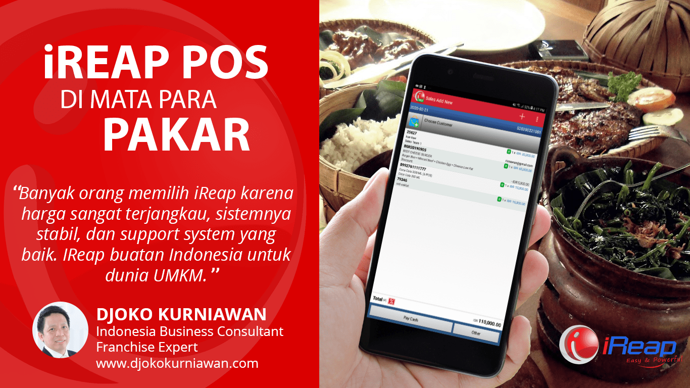Aplikasi POS Mobile Android Review Djoko Kurniawan Indonesia Business Consultant Franchise Expert