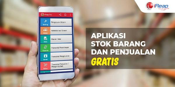 aplikasi stok barang dan penjualan gratis
