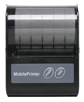 Turn on the Bellav Z80 bluetooth printer machine until the indicator light turns on