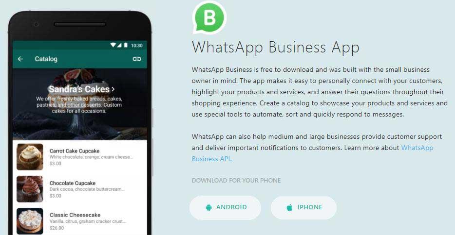 cara membuat akun whatsapp bisnis