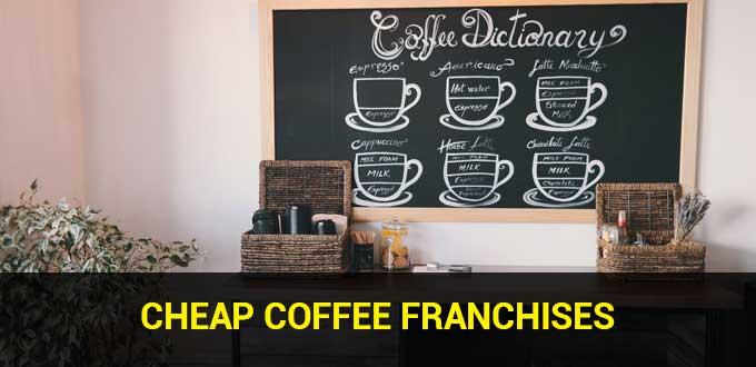 cheap coffee franchises