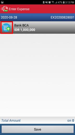 Kas bank aplikasi kasir mobile android iREAP POS PRO