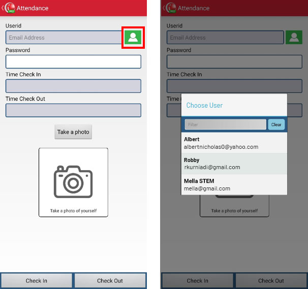 Step 4 Add user to attendace in iREAP POS Pro - record attendance in IREAP POS Pro