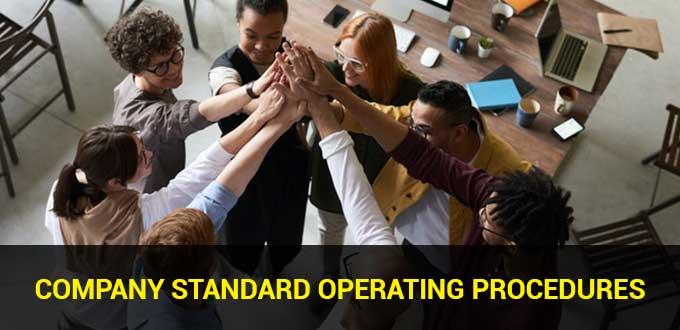 company standard operating procedures