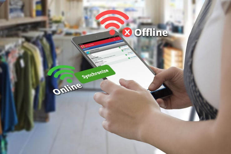 Mobile Cashier iREAP POS PRO Transaction Offline & Online to Support Business Continuity