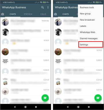 step one how to create a catalog on whatsapp business