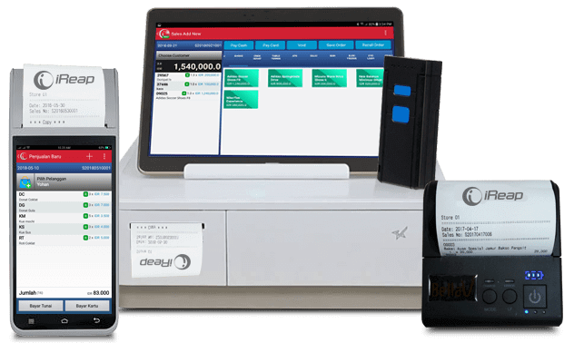 Free Mobile Cashier Android With Support Of Many Complete Hardware Brands - iREAP POS Lite