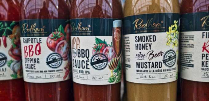 membuat label makanan dengan gambar menarik