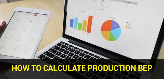 how to calculate production bep