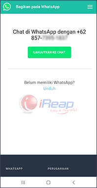 image chat whatsapp without saving contact number 2