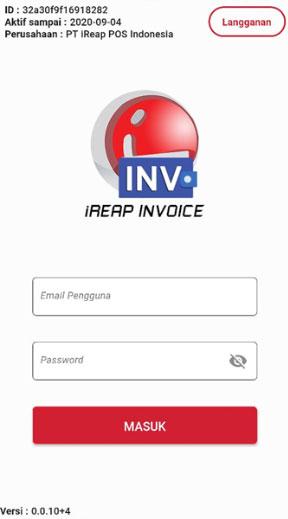 iREAP Invoice