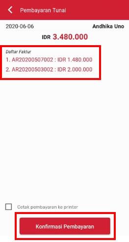 Konfirmasi Pembayaran - iREAP Invoice