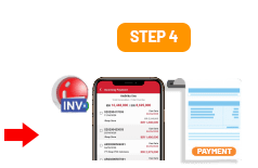 Step 4 Add Incoming Payment in iREAP Invoice