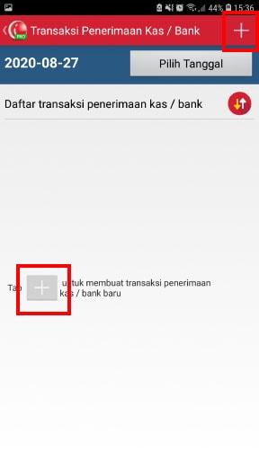 Menambahkan transaksi kas bank aplikasi kasir toko iREAP POS Pro