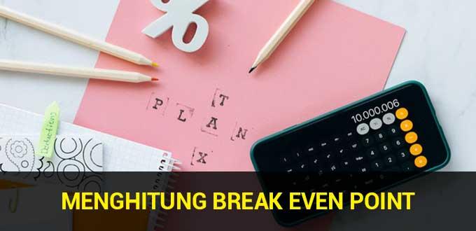 menghitung break even point