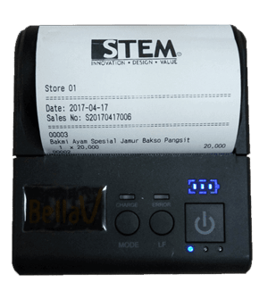 Print The Receipt in iREAP POS PRO Support Customize Logo