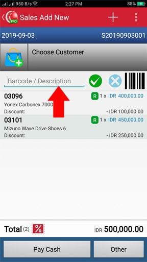 iREAP POS Pro Bagaimana Menggunakan Barcode Scanner