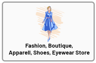 mobile cashier pos for fashion boutique, apparell, shoes