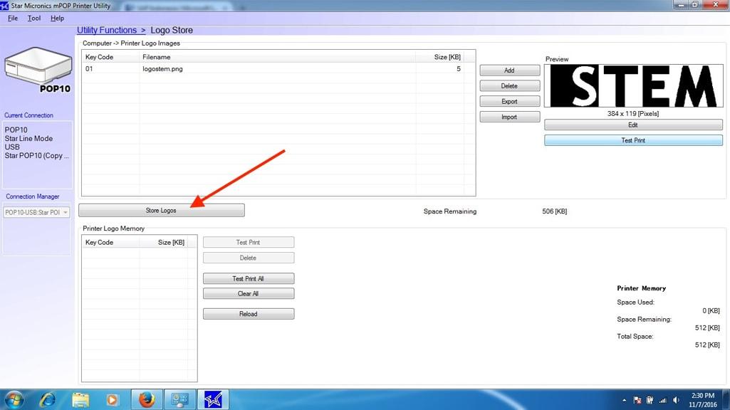 iREAP POS Test Print with Star mPOP Bluetooth Printer
