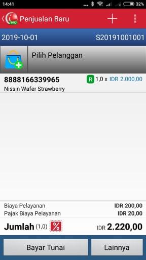 iREAP POS Pro Open Selling Price di Transaksi Penjualan