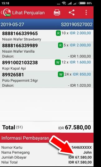 Metode Pembayaran Menggunakan Credit Card di detik transaksi iREAP POS Pro