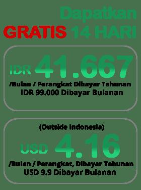 Aplikasi Kasir Android iREAP POS Pro Biaya Berlangganan - IDR 99.000 / month/perangkat, Dibayar Tahunan - 41.667/Bulan/perangkat (outside indonesia), Dibayar Tahunan