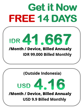 ireap pos pro - packages - IDR 99.000 / month/device, Billed Annualy - USD 41.67/month/device (outside indonesia), Billed Annualy