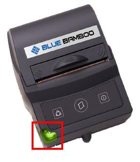 Mini Printer Bluetooth BlueBamboo P25