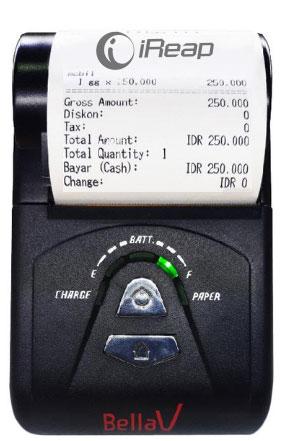 Print Receipt dari Printer Bluetooth SPRT T9