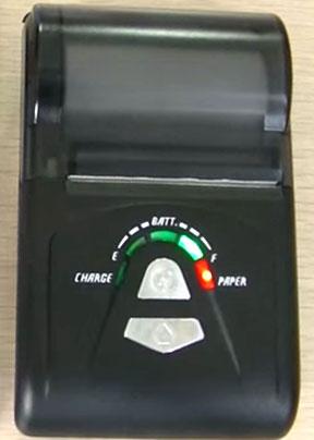 Nyalakan Mini Bluetooth Printer BellaV SZZCS