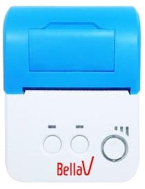 Nyalakan mesin printer bluetooth BellaV ZCS-05 hingga lampu indikator menyala