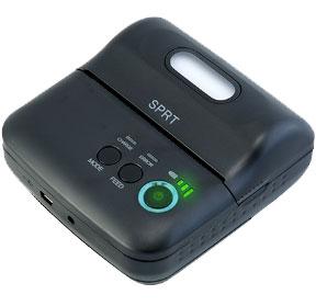 Turn on Mini Printer Bluetooth SPRT T9