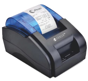 Print Struk Penjualan dari Mini Printer Bluetooth Panda PRJ 58D