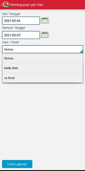 Set Pembayaran Harian pada aplikasi kasir iREAP POS PRO