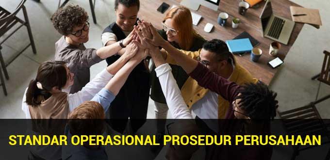 standar operasional prosedur perusahaan