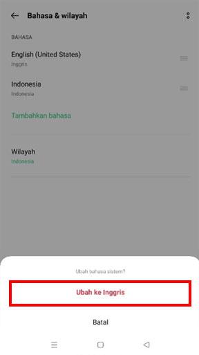 Ubah bahasa pada Aplikasi POS iREAP