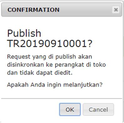 iREAP POS PRO Sycronized Permintaan Transfer Barang