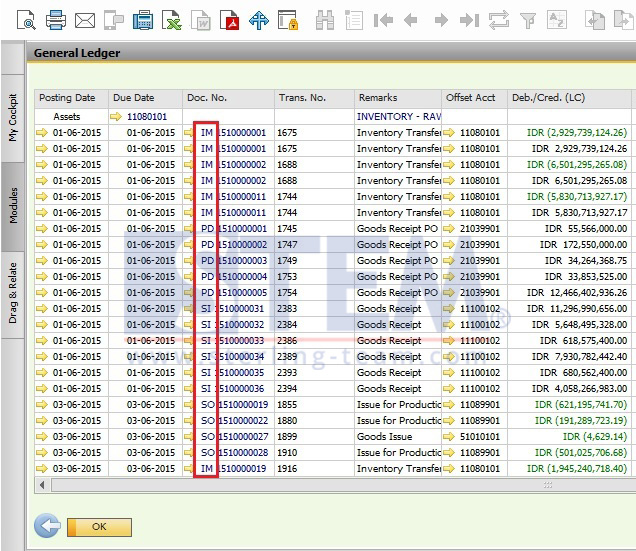 Document Type on SAP B1