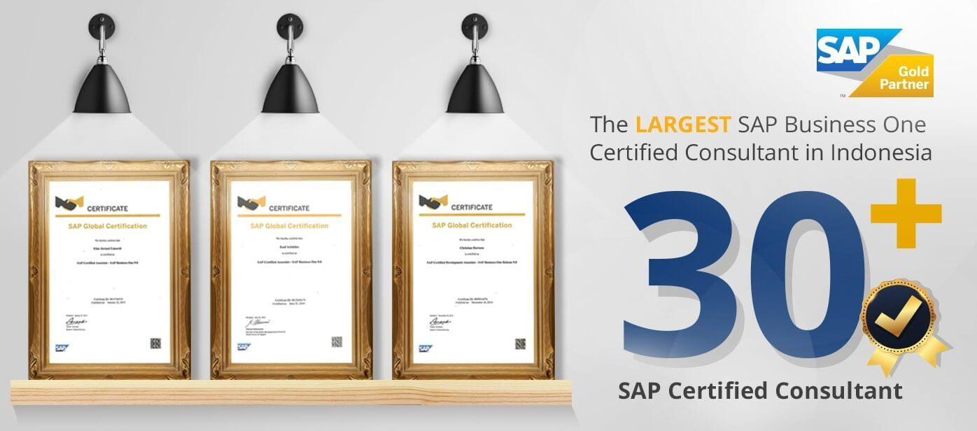 SAP Business One Certified Consultant Indonesia Sterling Tulus Cemerlang STEM SAP Gold Partner
