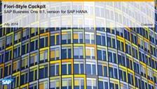 SAP Business One HANA Fiori Style Cockpit