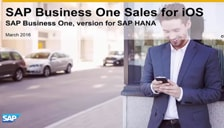 SAP Business One Sales for ios